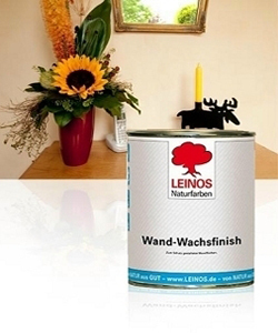 Wand-Wachs Finish Leinos Naturfarben