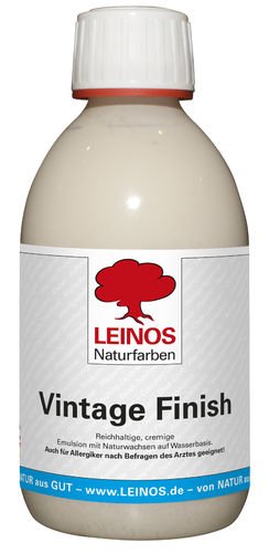 Vintage Finish Leinos Naturfarben
